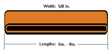 Rubber bands sizes