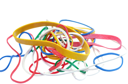 how to build things with rubber bands